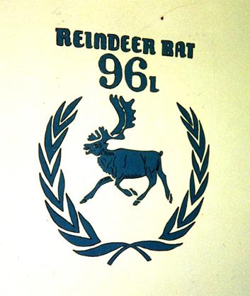 Radio Malish - Bataljonmärket på insidan - Sven Lundahl