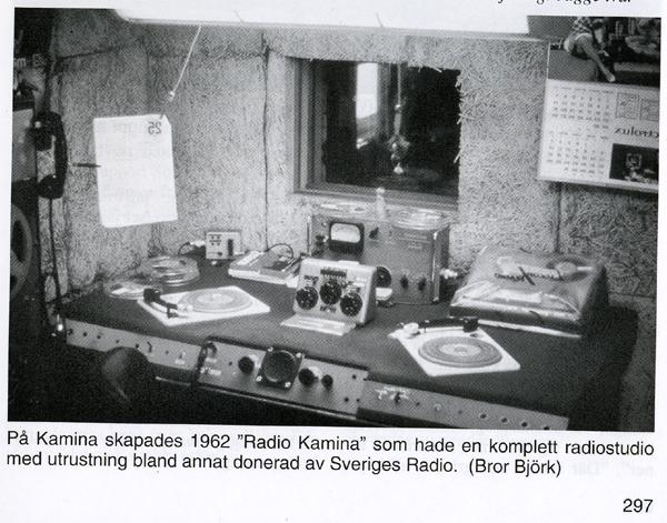 Radio Kamina, kontrollrummet ur Fredsflygarna