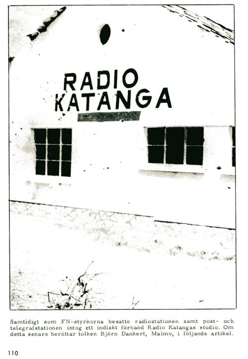 Radio Katanga ur FN-soldat i Kongo